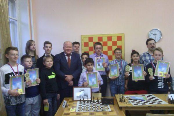 Призёры шахматисты